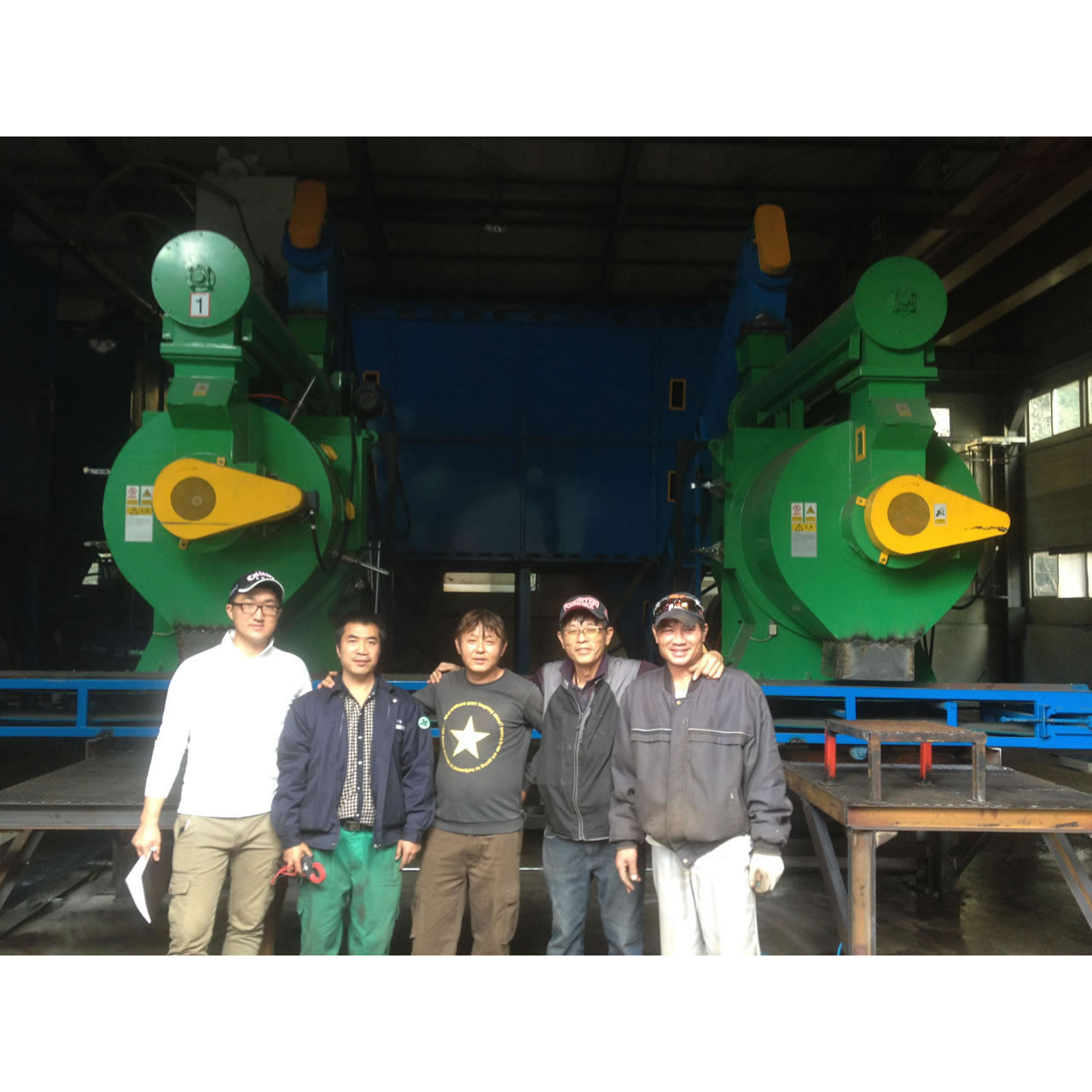 4TPH Wood Pellet Plant in Korea