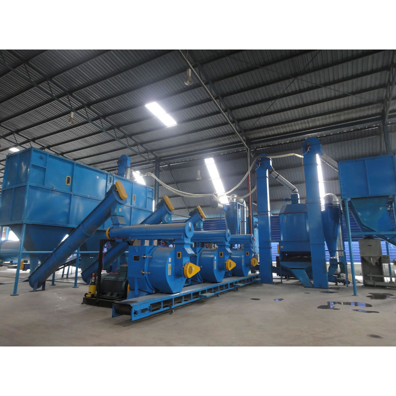 6TPH Pellet Production Line in Malaysia