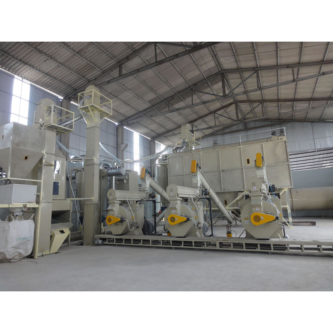 6TPH Wood Pellet Power Plant in Vietnam