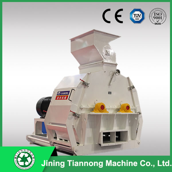 Hammer mill water drop 2 rotors